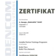 Zertifikat BioKey